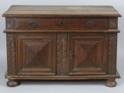 Continental Baroque-style Side Cabinet