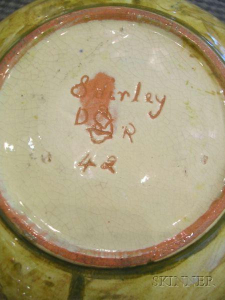 Two Della Robbia Pottery Vases
