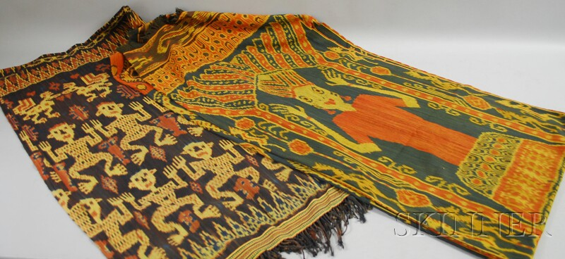 Two Indonesian Ikat Textiles