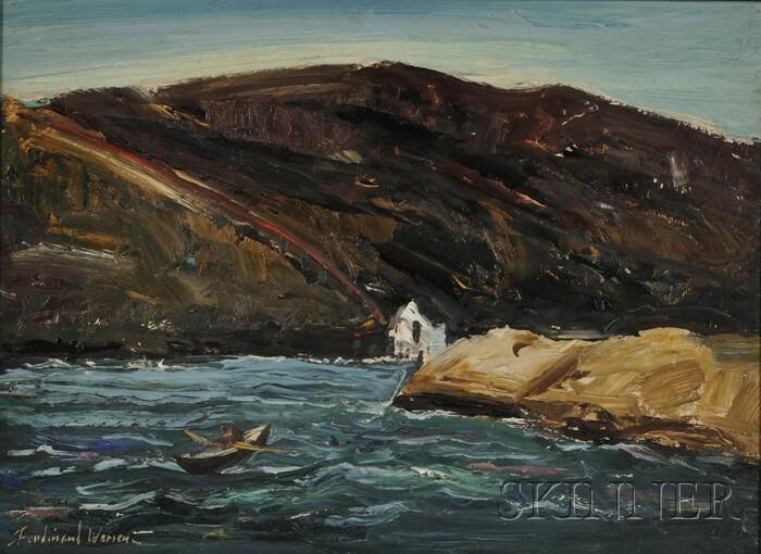 Ferdinand Earl Warren (American, 1899-1981)      Coastal Scene