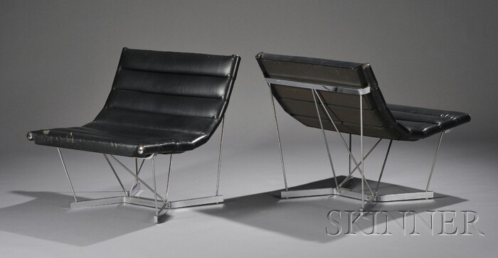 George Nelson & Associates Catenary Chairs