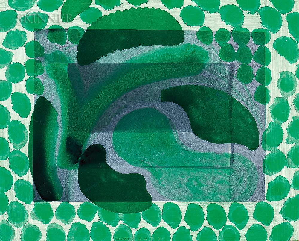 Howard Hodgkin (British, 1932-2017)      David's Pool