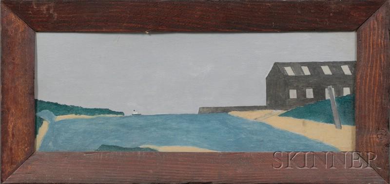 John Henry Bates (Massachusetts, Mid-20th century)      Lot of Three Marion, Massachusetts, Harbor Scenes.