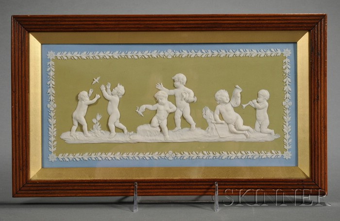 Wedgwood Three-Color Jasper Dip Plaque