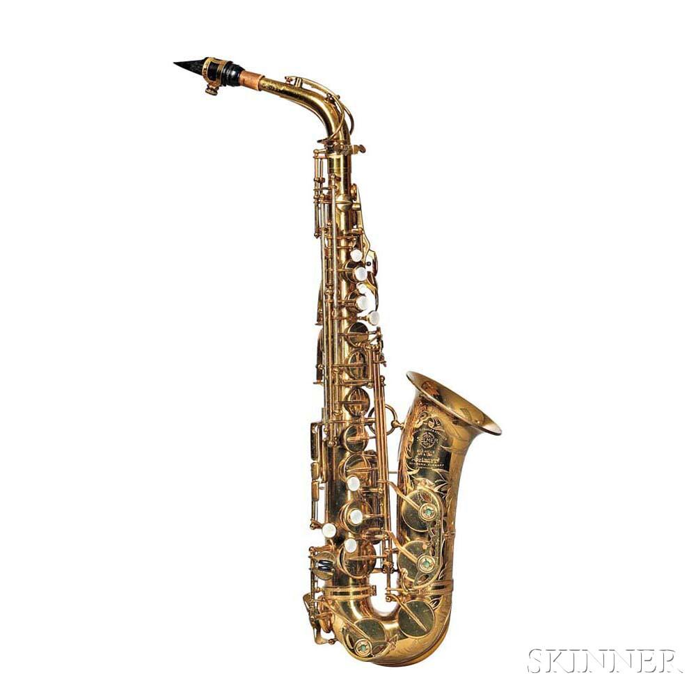 Alto Saxophone, Selmer Super Balanced Action, 1951
