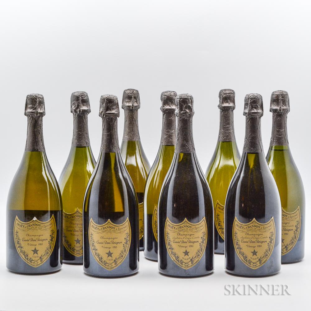 Dom Perignon Vintage Brut 1985, 9 bottles