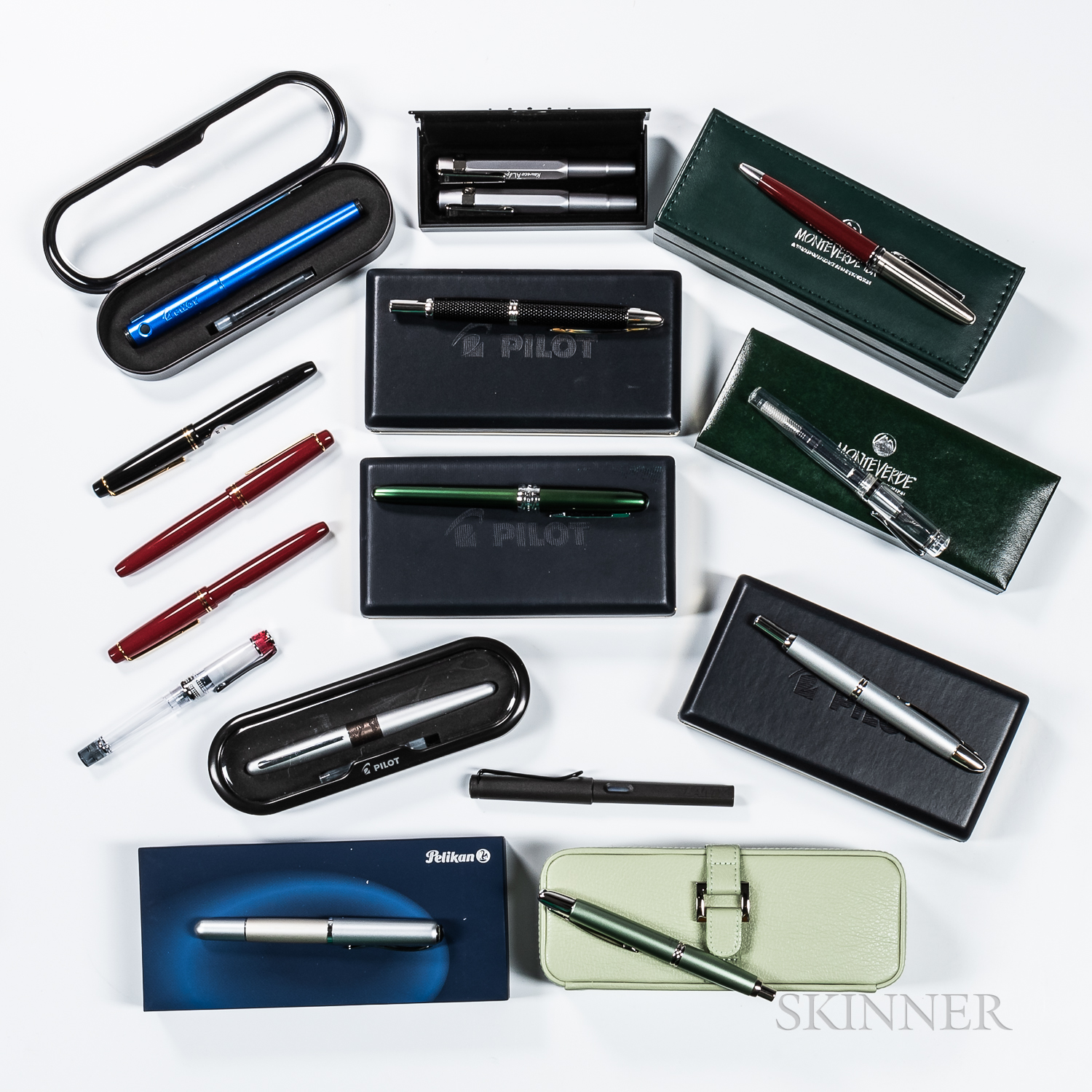 Collection of Sixteen Designer Pens