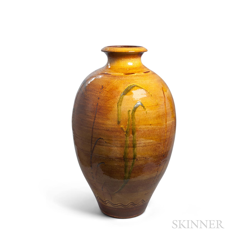Clive Bowen (British, b. 1943) Ceramic Jar