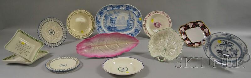 Twelve Assorted Wedgwood Ceramic Plates and Tableware Items