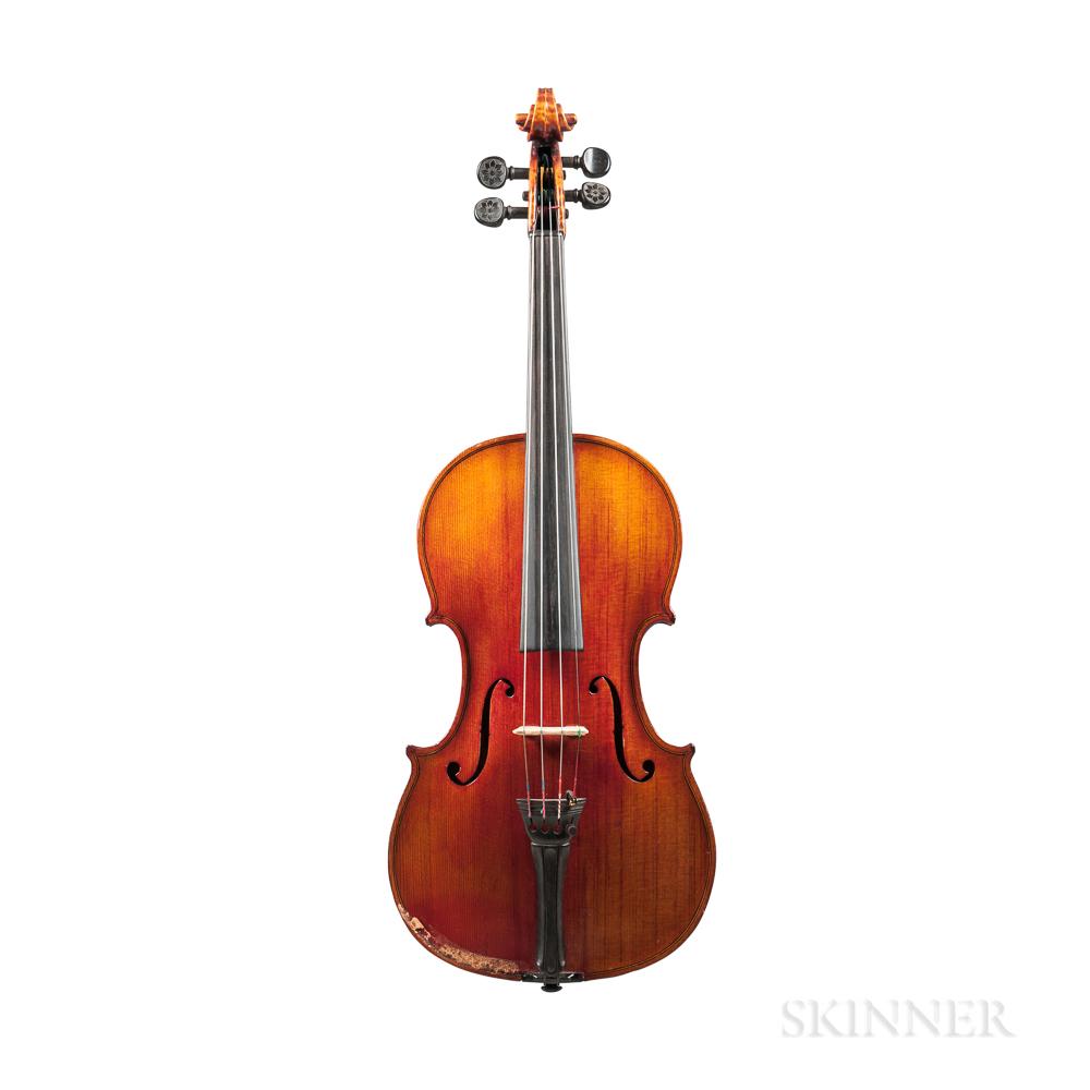 American Violin, W. Wilkanowski, 1941