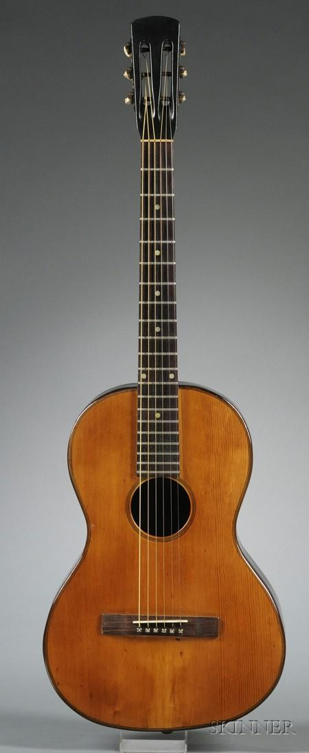 European Parlor Guitar, c. 1910