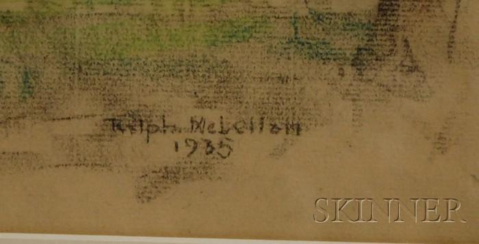 Ralph D. McLellan (American, 1884-1977)      Farmhouse