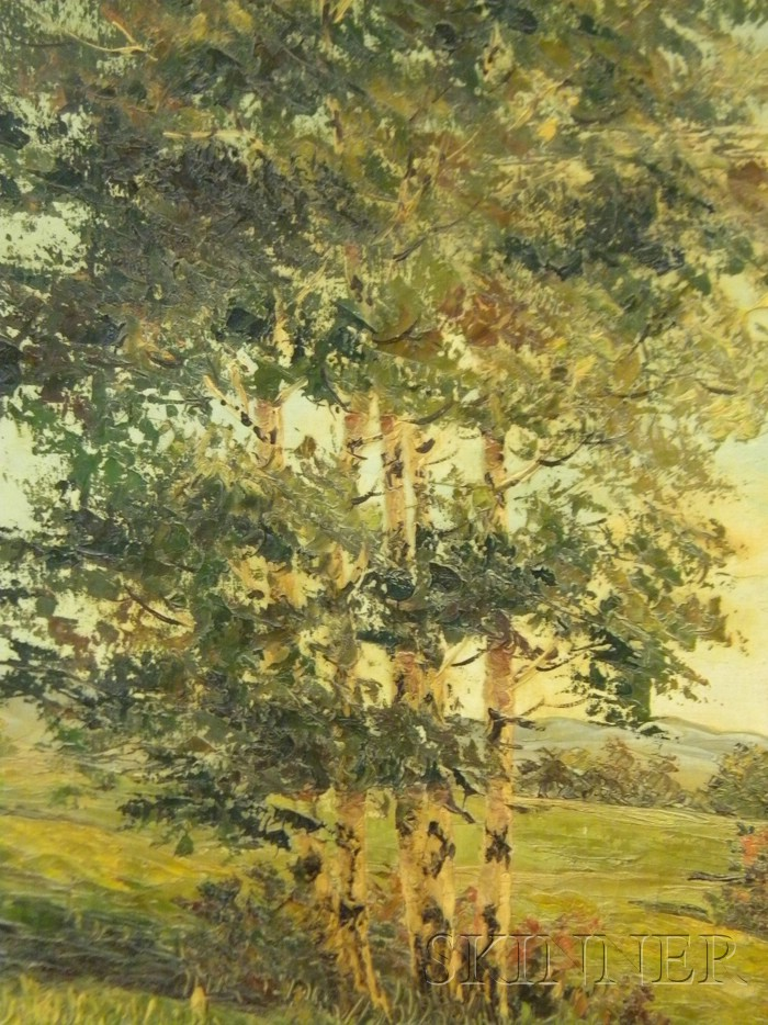Continental School, 20th Century      Autumn Landscape.