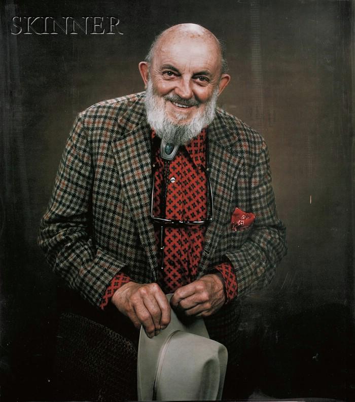 Polaroid (American, 20th/21st Century)      Portrait of Ansel Adams.