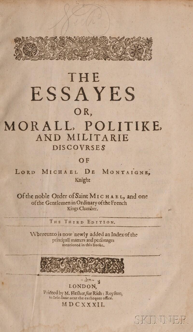 Montaigne, Michel Eyquem de (1533-1592)