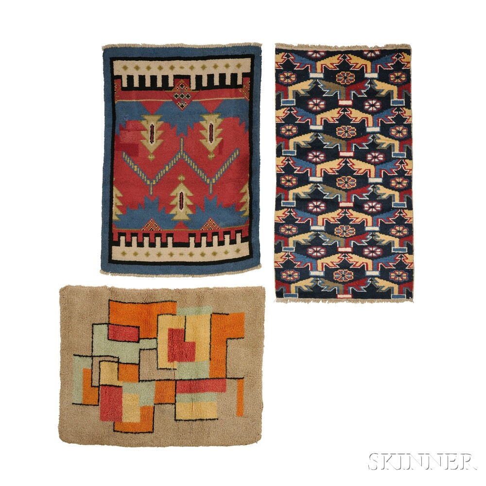Four Modernist Rugs