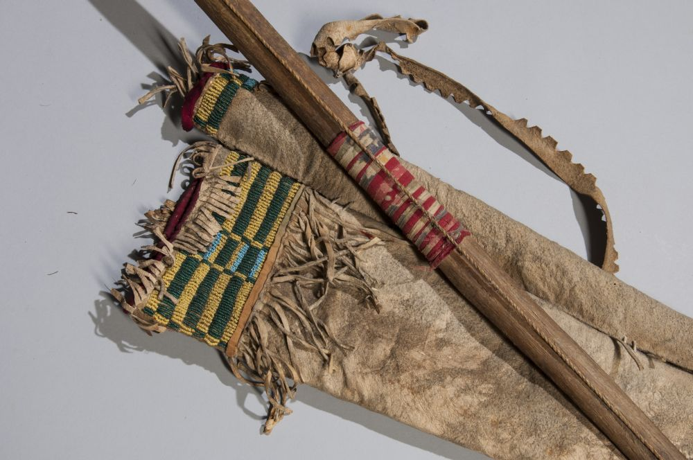 Cheyenne Beaded Bow Case and Quiver