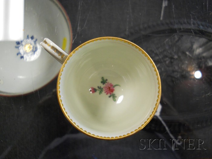 Three 18th Century English Porcelain Items