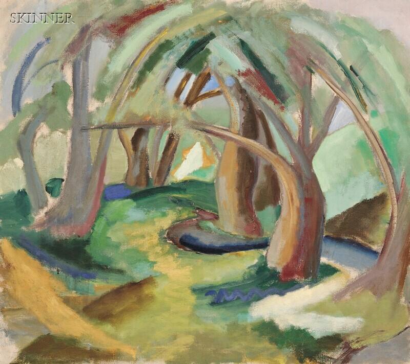 Quita Brodhead (American, 1901-2002)      Swamp Willows
