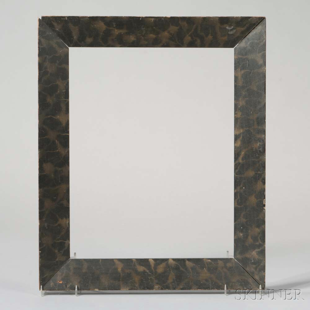 Faux Marble Painted Picture Frame