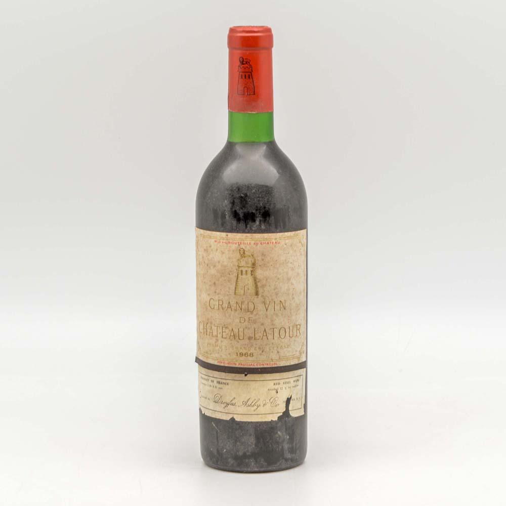 Chateau Latour 1968, 1 bottle