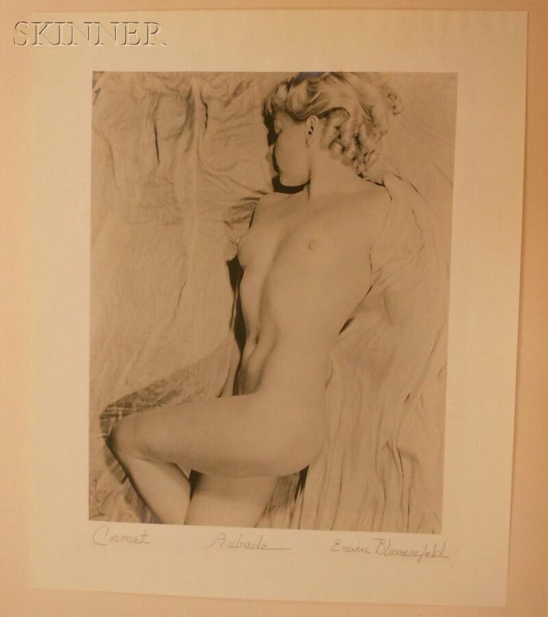 Erwin Blumenfeld (German, 1897-1969)      Aubade