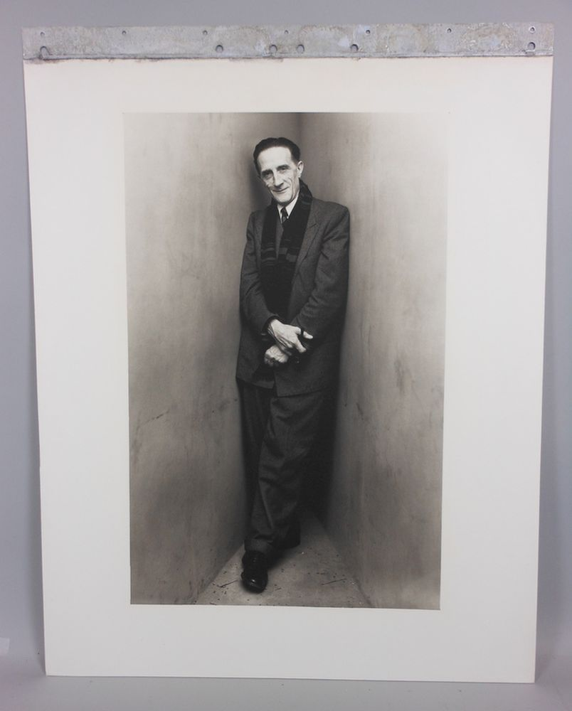 Irving Penn (American, 1917-2009)      Marcel Duchamp, New York