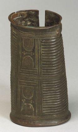 African Bronze Wrist Cuff