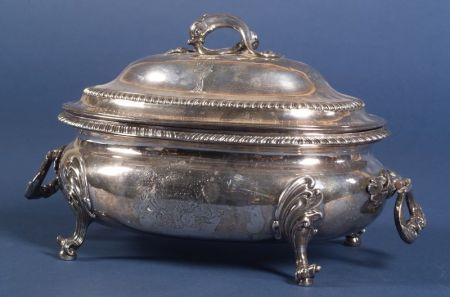 George III Silver Covered Tureen