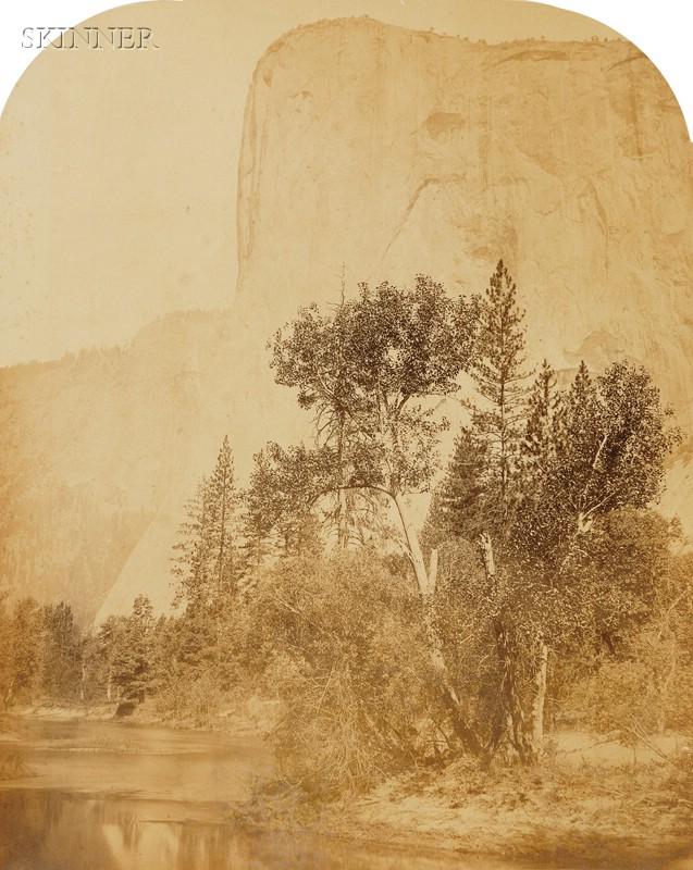 Carleton E. Watkins (American, 1829-1916)      Five Yosemite Valley Landscapes.