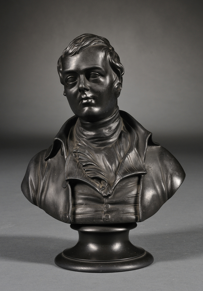 Wedgwood Basalt Bust of Burns
