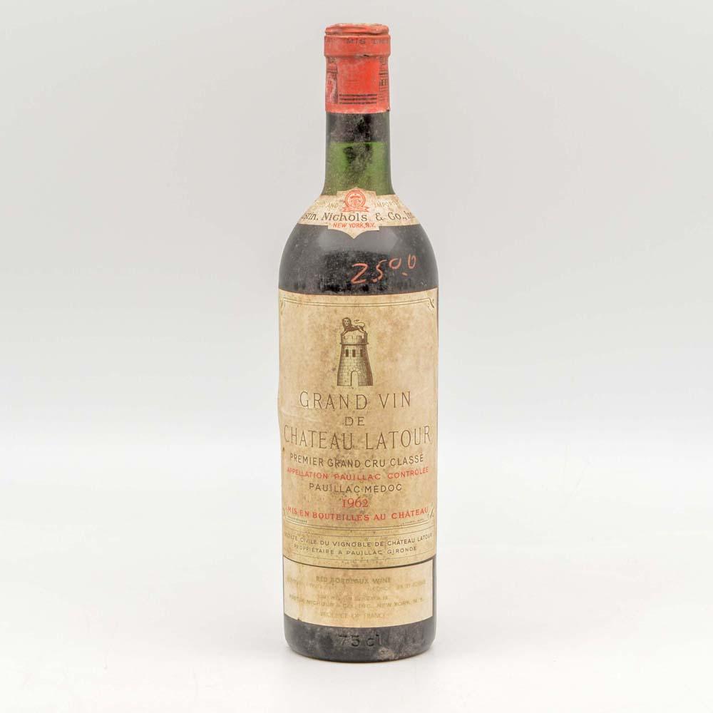 Chateau Latour 1962, 1 bottle