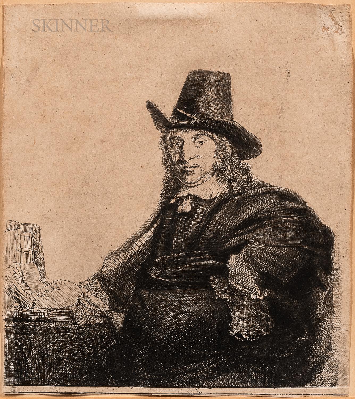 Rembrandt van Rijn (Dutch, 1606-1669)      Jan Asselyn, Painter ('Krabbetje')