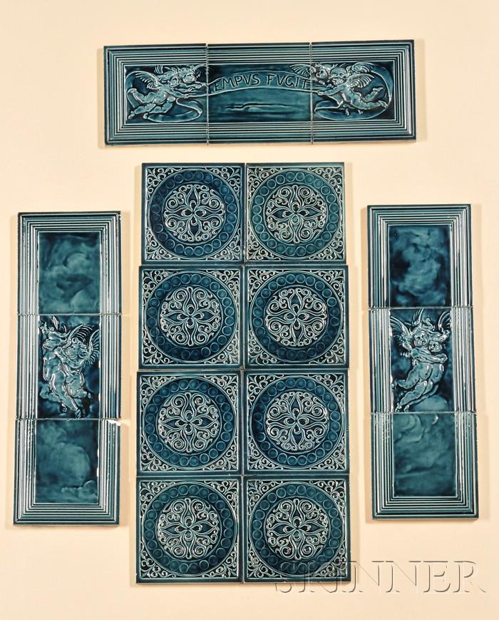 J. & J.G. Low Arts and Crafts Tile Frieze