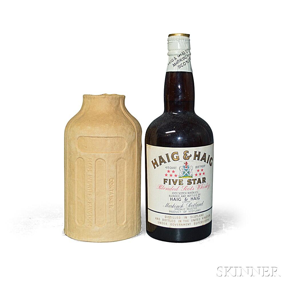 Haig & Haig Five Star, 1 4/5 quart bottle