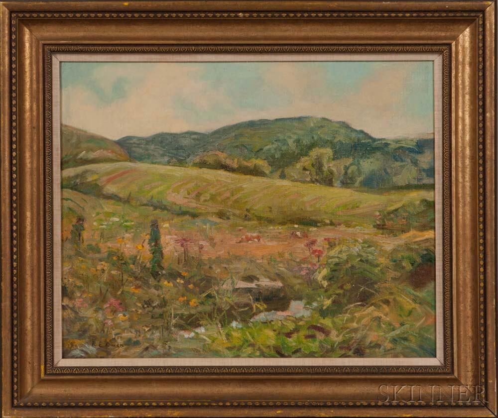 Robert Owen (American, 1878-1957)    Country Landscape