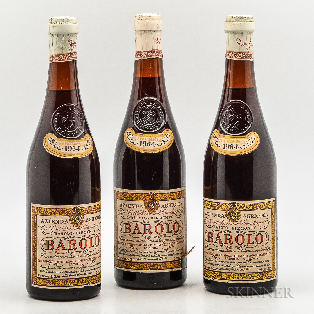 Damilano Barolo 1964, 3 bottles
