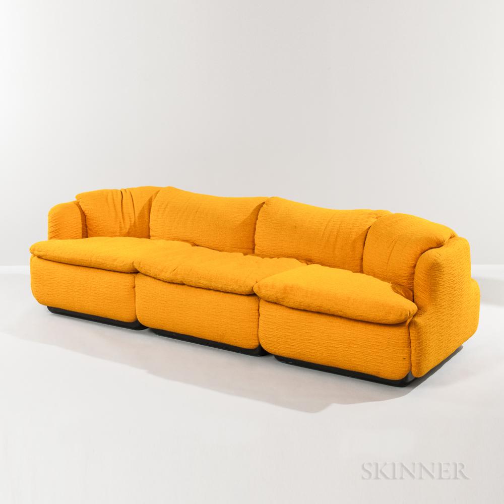 Alberto Rosselli for Saporiti Italia Confidential Sofa