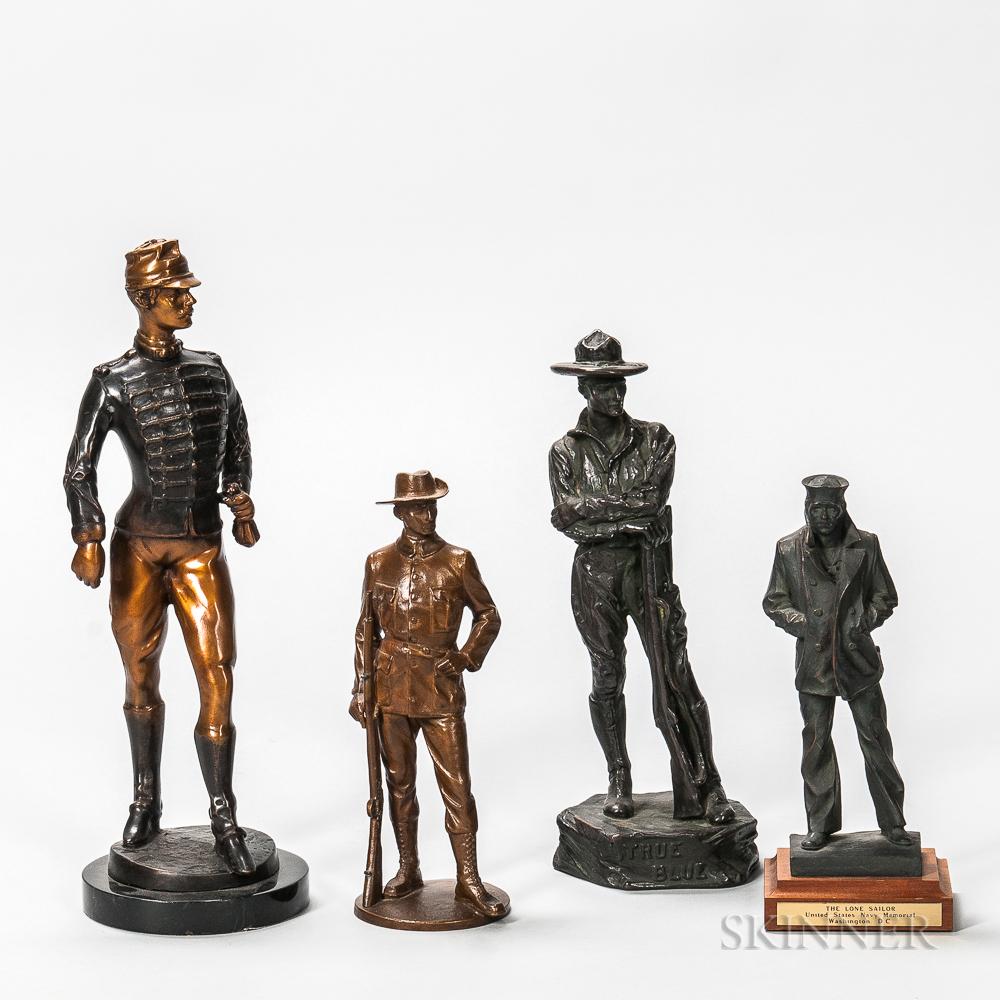 Four Military Sculptures