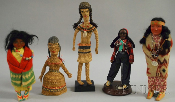 Five Indian Dolls