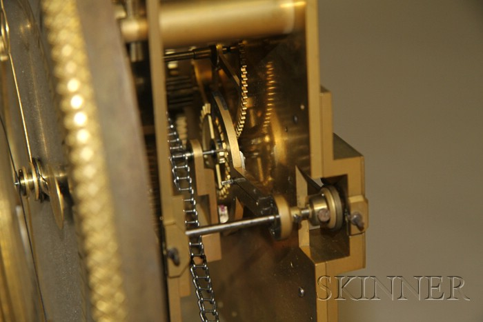 Nine-Month Duration Regulator Clock by J.J. LePaute