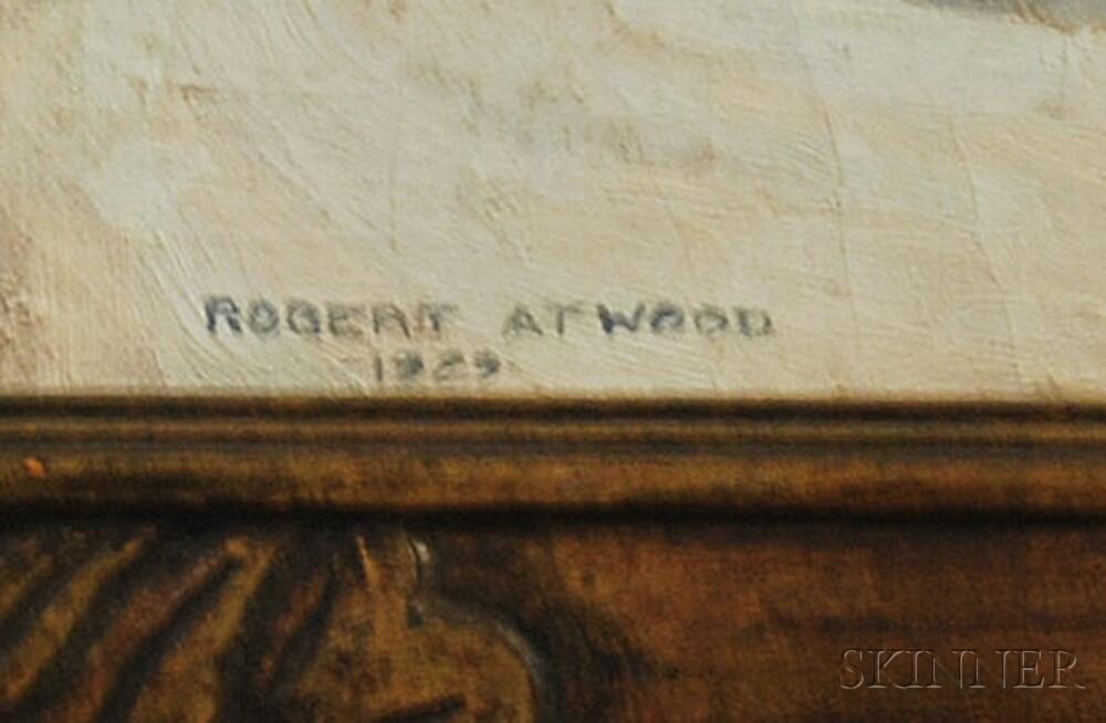 Robert Atwood (American, 1892-1970)      Country Corner