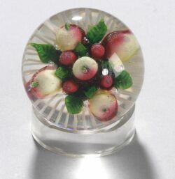 Fruit Glass Paperweight