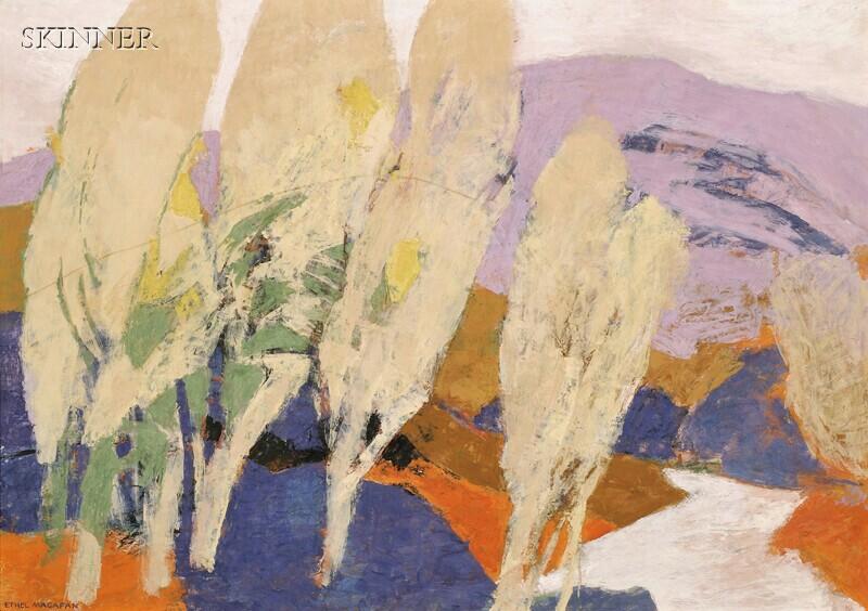 Ethel Magafan (American, 1916-1993)      October Light