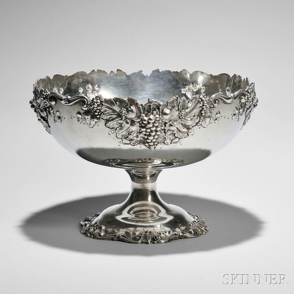 George Shiebler & Co. Sterling Silver Compote