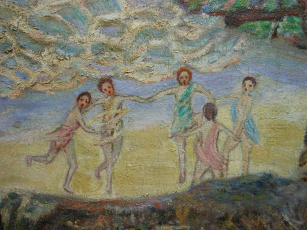 American School, 20th Century      Nymphs Dancing on a Newport Beach