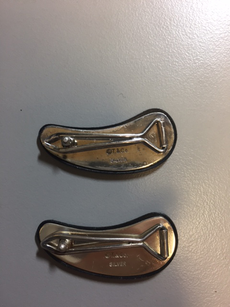 Two Mixed-metal Hairclips, Tiffany & Co.