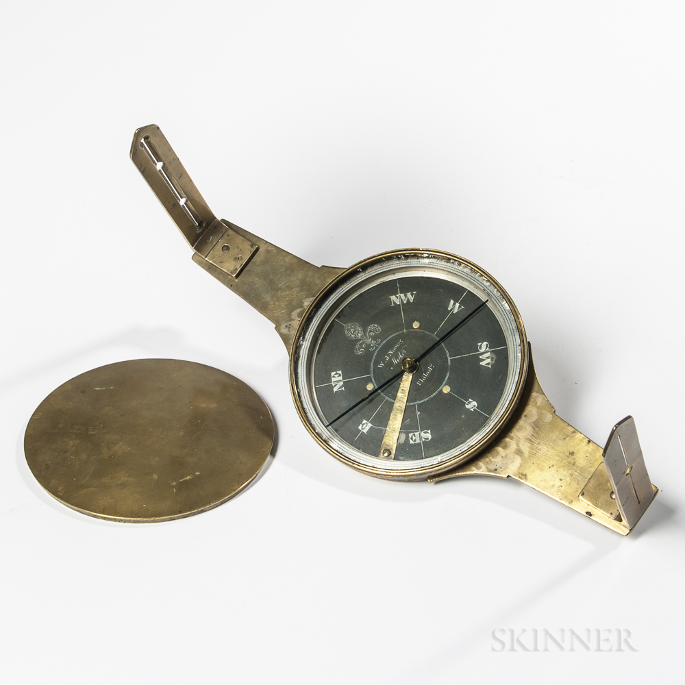 William J. Young Surveyor's Compass