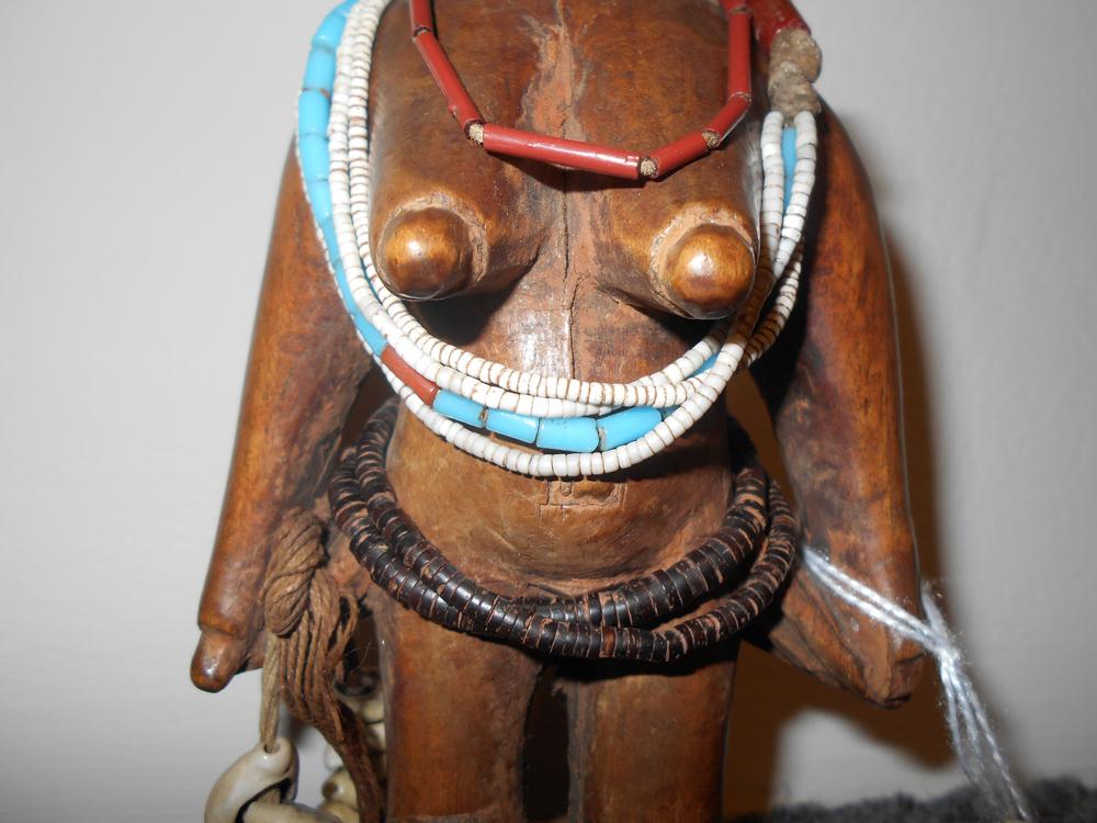 Yoruba Carved Wood Ibeji Doll