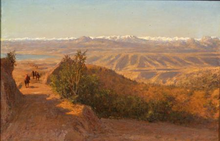 Henry A. Ferguson (American, 1845-1911)    Chilean Andes